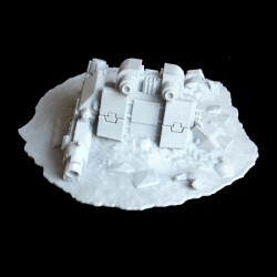 Dreadnought Wreck Terrain 28mm