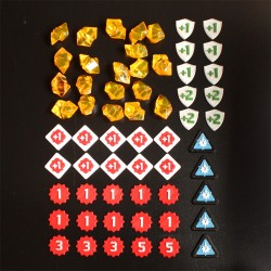 KeyForge Set of Tokens Only Version 2