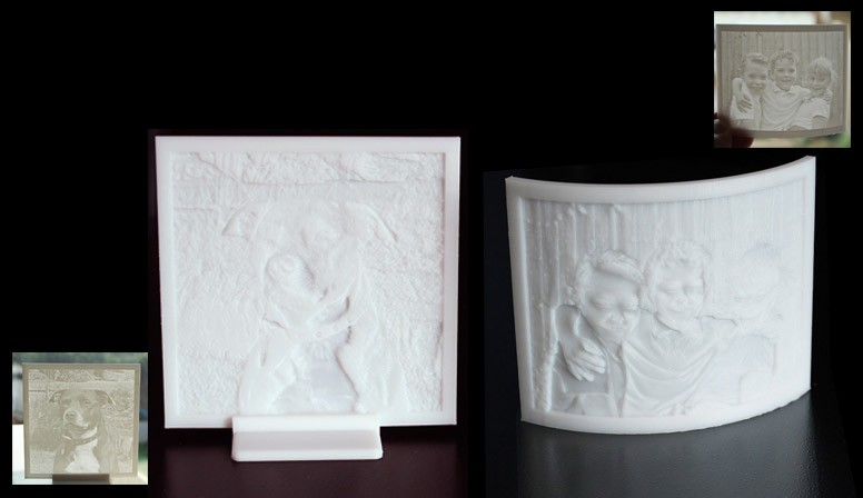 3D Photos - Lithophanes